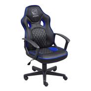 Cadeira Gamer Pcyes Mad Racer Master Madstimsaz Preta E Azul