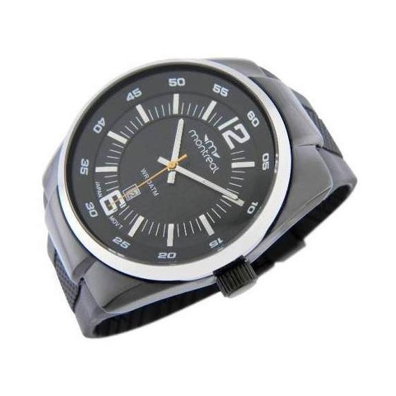 Reloj Montreal Hombre Ml413 Calendario Envío Gratis