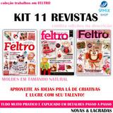 11 Revista Feltro Coleção Artesanato Passo A Passo Com Molde