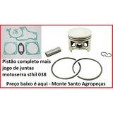 Pistao Completo + Juntas Motoserra Stihl 038 -52mm
