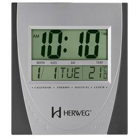 b3e27372214 Relogio De Parede Digital Herweg - Relógios no Mercado Livre Brasil