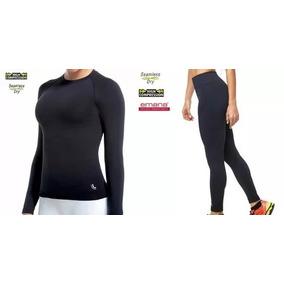 d65f01928d Conjunto Térmico Feminino Lupo Camiseta E Calça Original