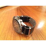 Malla Nato Cuero P/ Reloj Tag Omega Tissot Tommy Seiko [n/n]