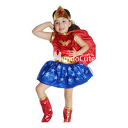 Disfraz Niña Mujer Maravilla Disfraces Wonder Woman Heroina