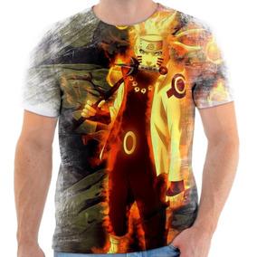 Camisa Camiseta Personalizada Uzumaki Naruto Kyuubi 5