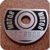 Plaqueta Motor Cht Frete Grátis Via Carta Registrada
