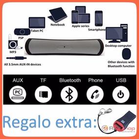 5 Pzs Bocina Speaker Bluetooth Recar C/usb,radio, Mayoreo