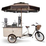 Food Bike Trike Triciclo Truck Churros 100% Idêntica A Foto