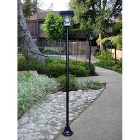 Lámpara De Jardín Sun Light Pl2200 Solar Pon 4 Led Brillante