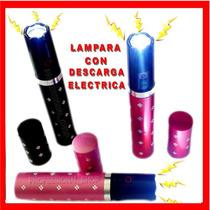 Lampara Descarga Lipstick Electroshock Inmovilizador Mujer