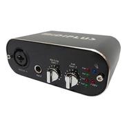 Placa De Sonido Usb Externa Midiplus Audiolink Light