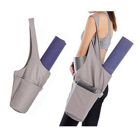 Ugrace Yoga Mat Bolsa Plegable Algodón Yogi Colchoneta De Ej
