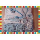 Ajuar De Bebé Recién Nacido - 6 Piezas