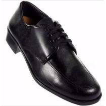 Sapato Masculino Social Preto Touroflex 752 Com Cadarço