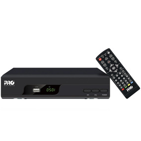 Conversor Digital Full Hd Proeletronic Usb Hdmi Prodt-1200