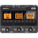 Zoom G3 Pedalera De Efec+amp Simul Guit107 Ef 3mod 200 Pr 24