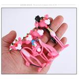 Pantera Cor De Rosa - 4 Bonecos The Pink Panther