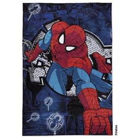Frazada Spider Man / Hombre Araña Simil Piel Piñata Original