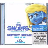 Britney Spears Cd The Smurfs 2 Ooh La La Lacrado Raro