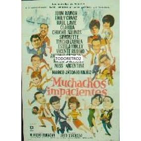 Afiche Muchachos Impacientes Simonette, Ringo Bonavena 1966