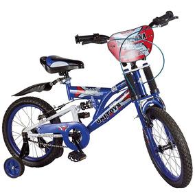Bicicleta-bike Aro 16 C/ Amortecedor No Quadro De 4 A 8 Anos