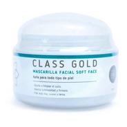 Mascarilla Facial Soft Face Class Gold - mL a $482