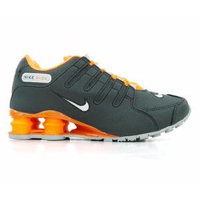 Tênis Nike Shox Nz Laranja E Preto