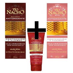 Tio Nacho Tratamiento Completo Antioxidante Sh + Acond + Tra
