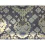 Papel De Presente Metalizado Luxo Abstrato 65x47cm 1un #0001