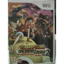 One Piece - Unlimited Cruise 2 - Wii - Eur Pal Lacrado Novo