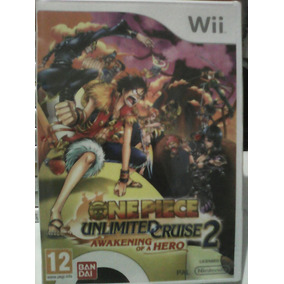 One Piece - Unlimited Cruise 2 - Wii - Europeu Pal - Novo