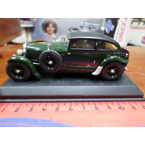 Ixo Museum 1/43 Bentley Speed Six 1930 Blue Train Barnato