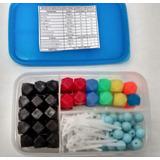 Kit De Moléculas, Química, 122 Átomos + Muestra Red Bravais