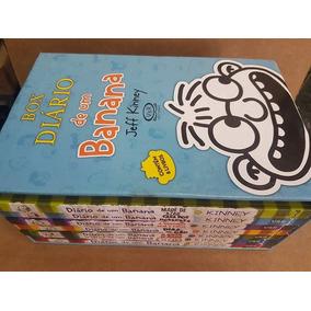 Box Livro Diário De Um Banana Jeff Kinney (falta 7 Ediçao)