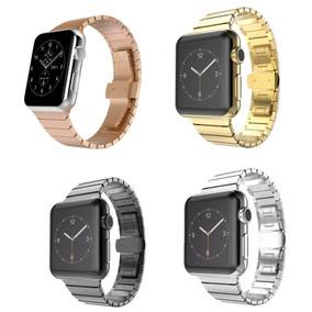 Pulseira De Elos Aço Inox Para Apple Watch 42mm