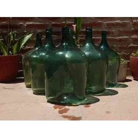 Damajuana De Vidrio 25 Litros Damajuanas Vino Adorno Deco