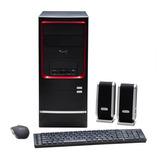 Computadora Kanji Luky J1800 2 Gb Ram 500 Gb Disco