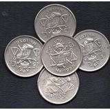 Moneda Mexicana Plata Veinticinco Centavos Balanza P134
