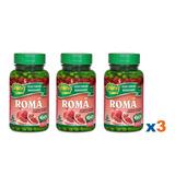 3 Romã 60 Cáps Vitaminas B5 C E Selênio 500mg Mercado Livre