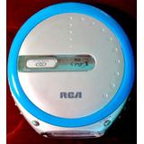 Discman Walkman Reproductor Cd Rca Nuevo Sellado + Audífonos