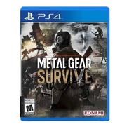 Juego Playstation 4 Ps4 Metal Gear Survive Fisico Nuevo