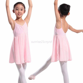 Leotardo Vestido Ballet Tutú Danza Gimnasia Patinaje Niña