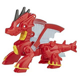 Juguete Héroes Playskool Transformers Rescue Bots Drake Dra