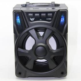 Caixa Caixinha Som Bluetooth Portátil Mp3 Pendrive Fm Preta