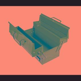Caja Plastica Tipo Acordeón De 17 (440 X230 X250)
