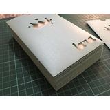 Sobres Calados 10x15 Verticales En Papel Perlado