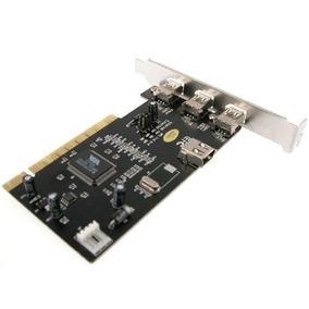 Placa Firewire Chipset Via 4 Portas Ieee1394 ( 3 Ext / 1int)