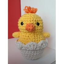 Souvenirs Recien Nacido Pollito Amigurumis Crochet Amigurumi