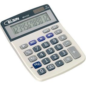 Calculadora De Mesa Mv4122 - Elgin