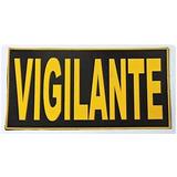 Emborrachado P/ Costas Da Capa De Colete Vigilante;segurança